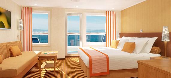 ocean suite cruise stateroom