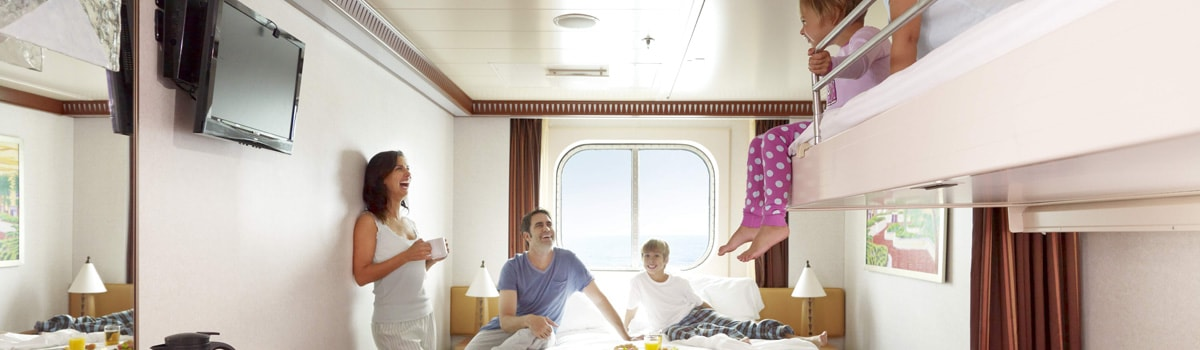 Family friendly staterooms