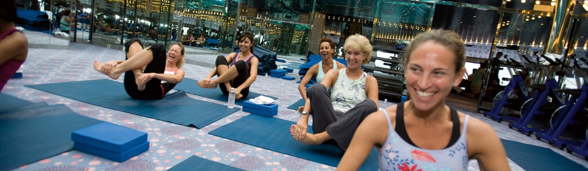 Free fitness classes with cloud 9 spa stateroom