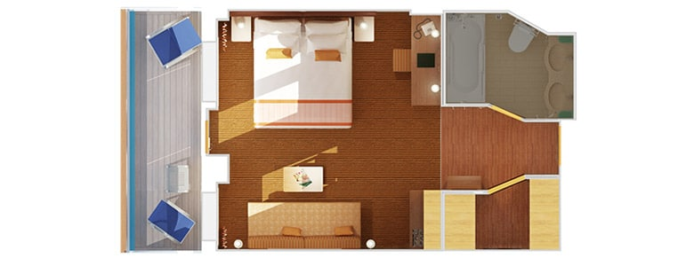 Ocean Suite Floor Plan